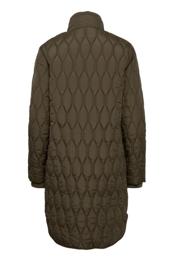 Fransa Frbaquilt jakke, green ink, medium