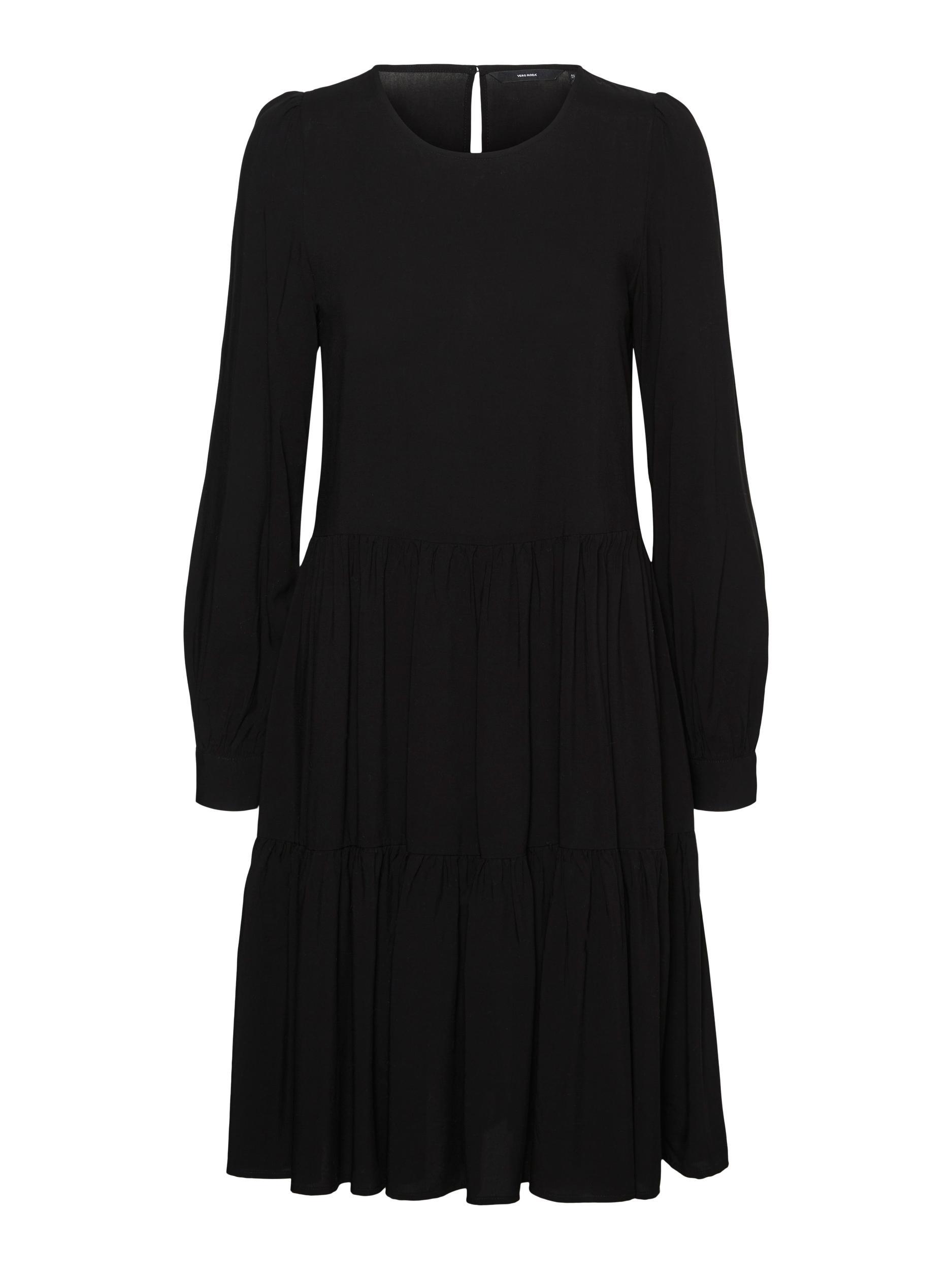 Vero Moda Nads LS kjole, sort, x-small