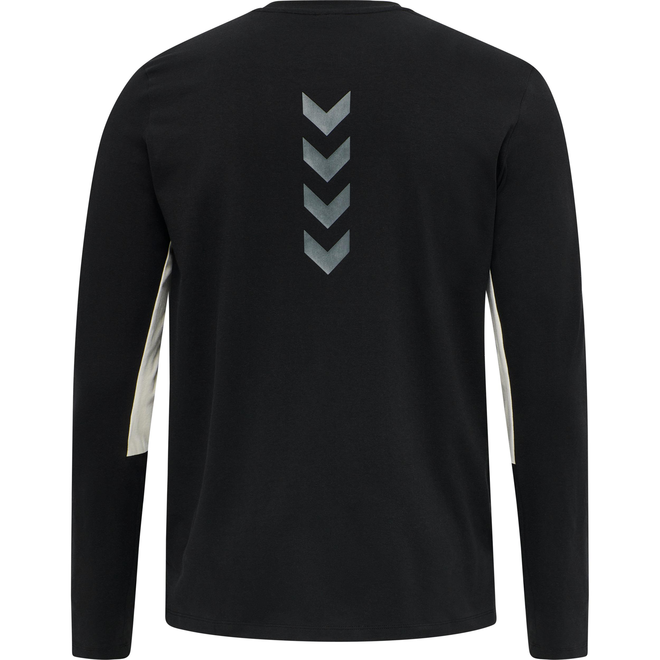 Hummel Lalaska t-shirt LS, black, medium