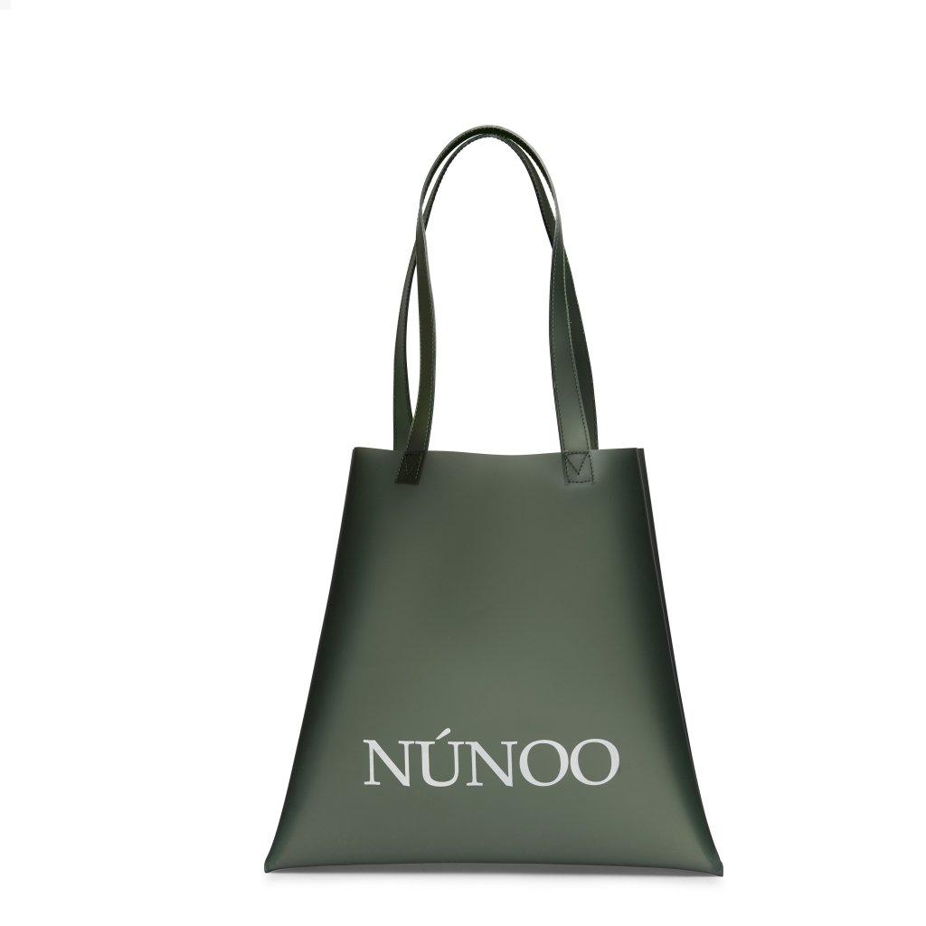 Nunoo vegansk tote taske, grøn