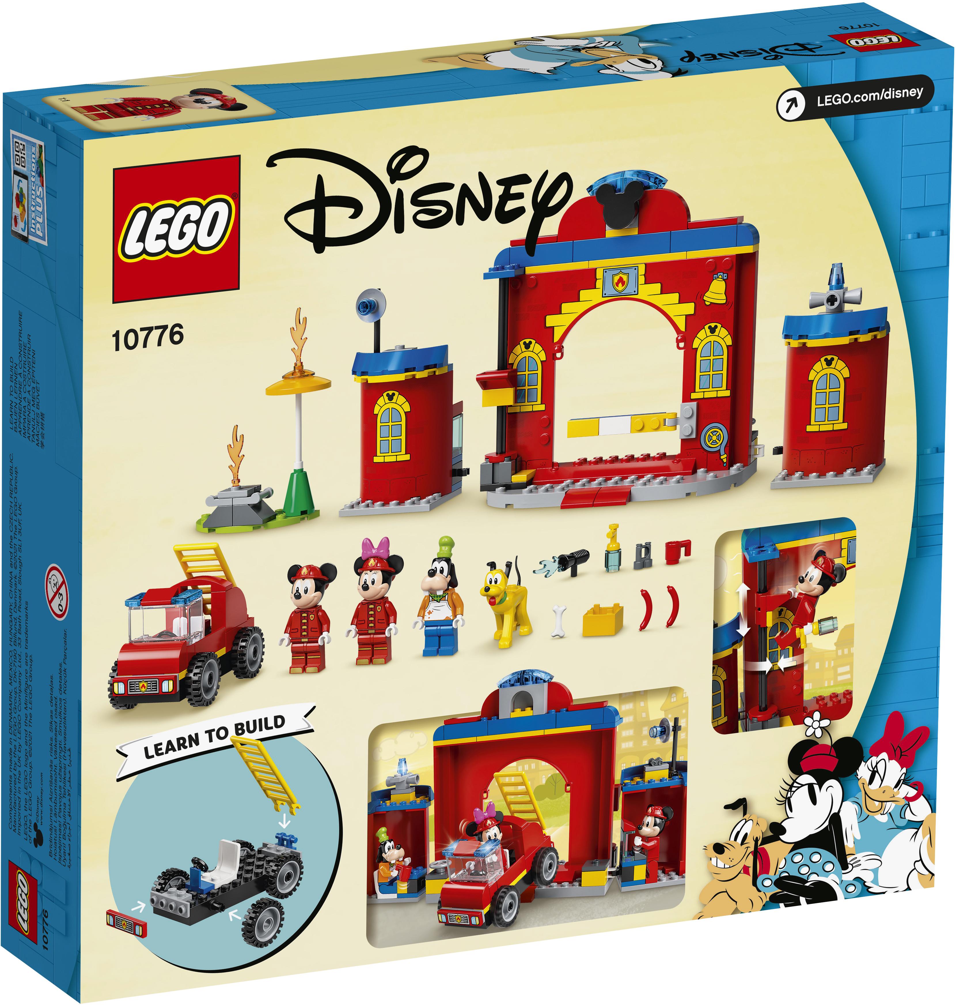 LEGO Disney Brandstation & brandbil - 10776