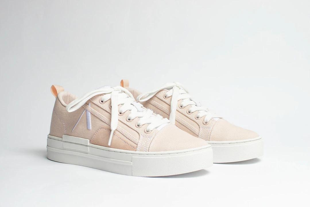 ARKK Copenhagen Sommr Canvas sneakers, soft pink/white, 40
