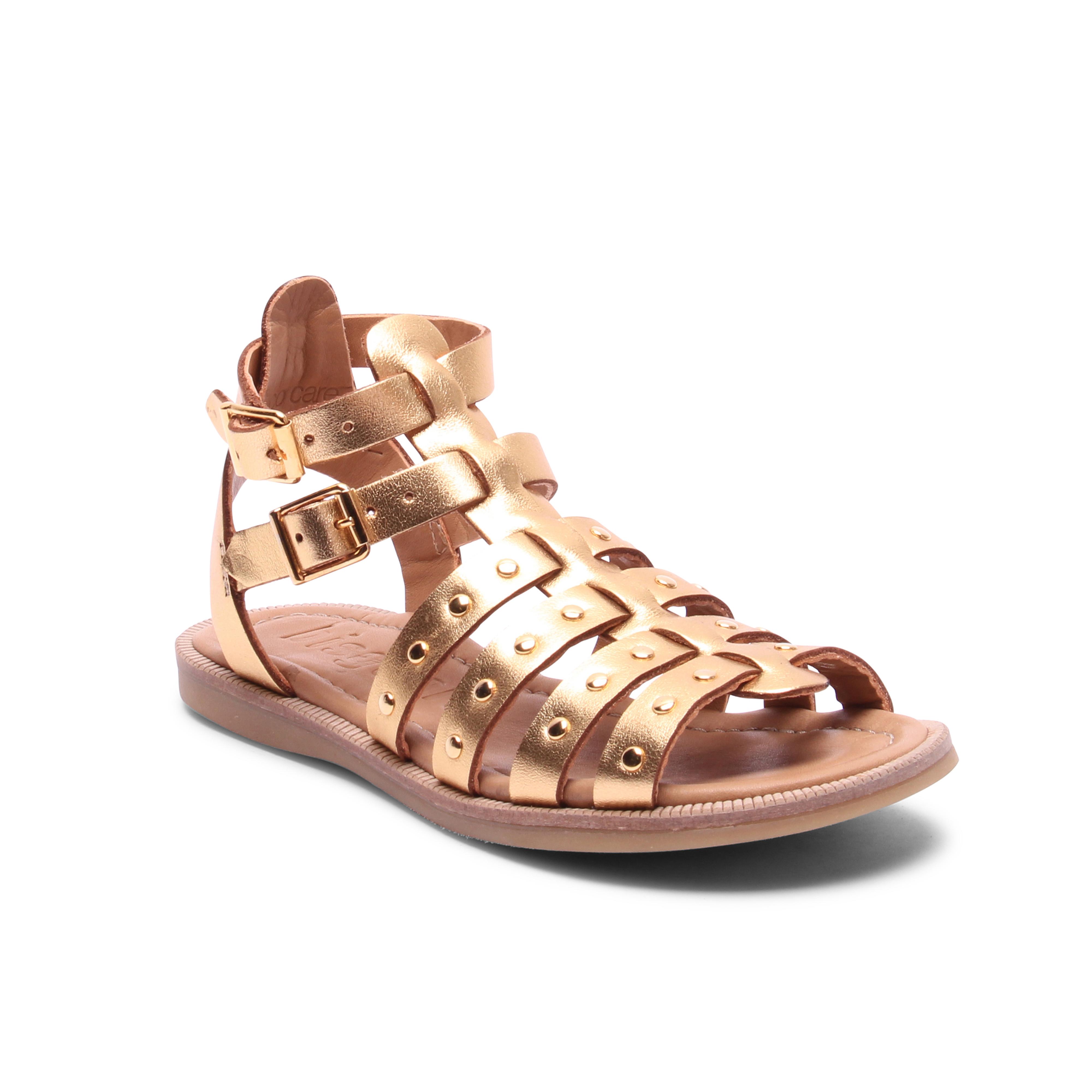 Bisgaard 70268 sandal, gold, 36