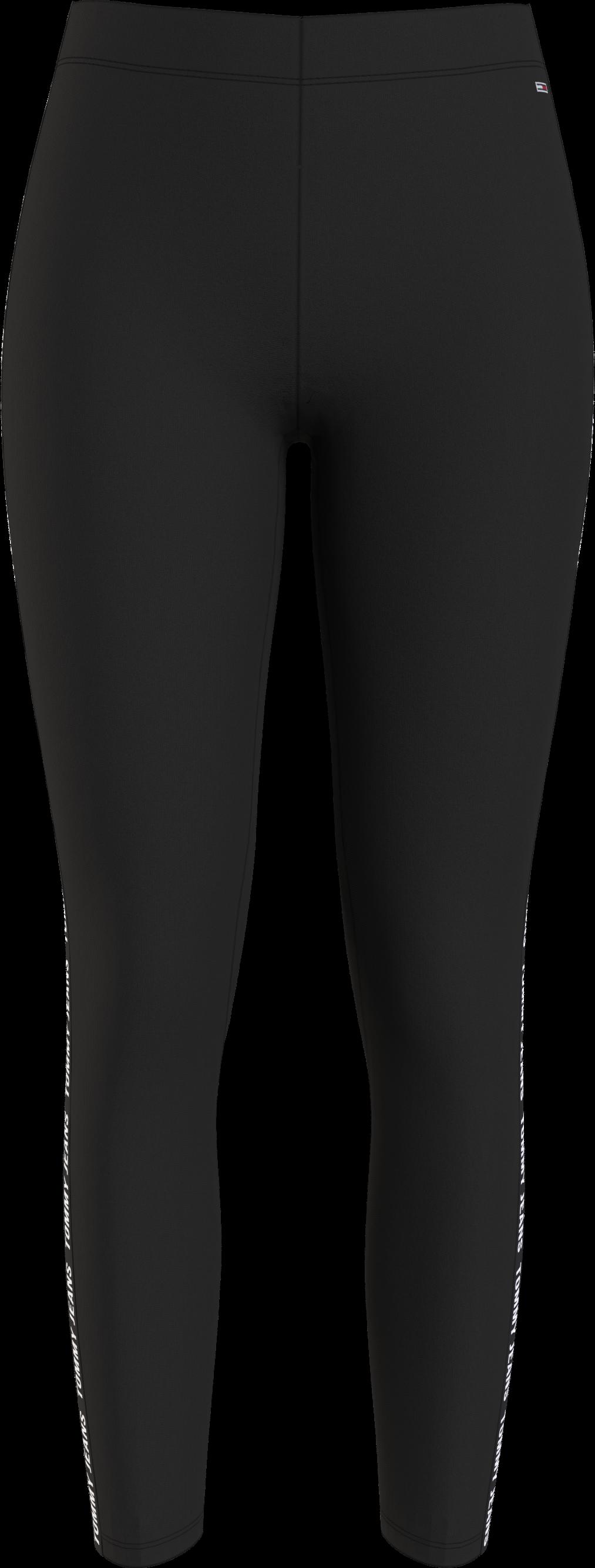 Hilfiger Denim Logo Tape Leggings, Sort, XS