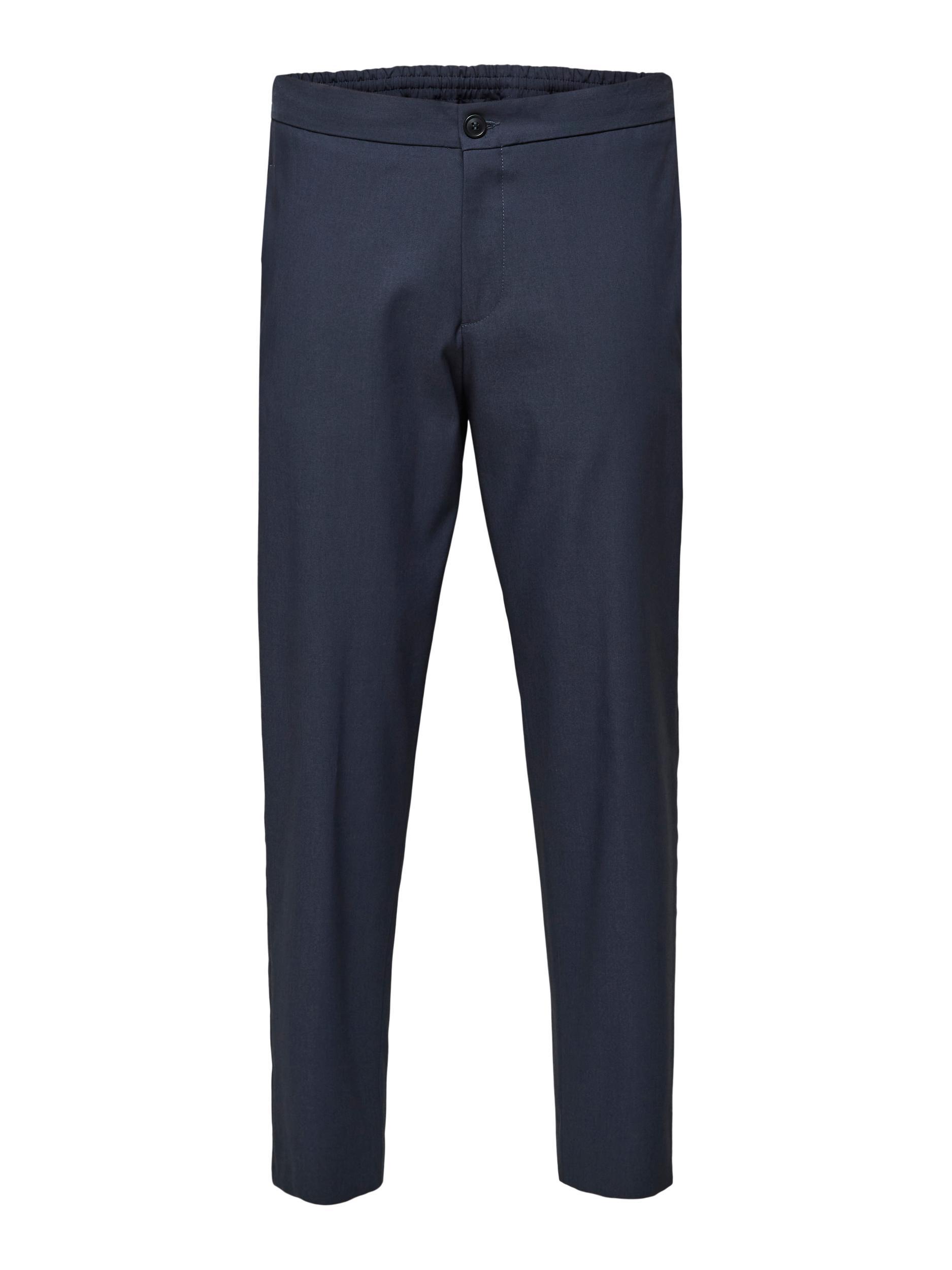 Selected Homme Slimtape-Dann bukser, navy blazer, 32/32