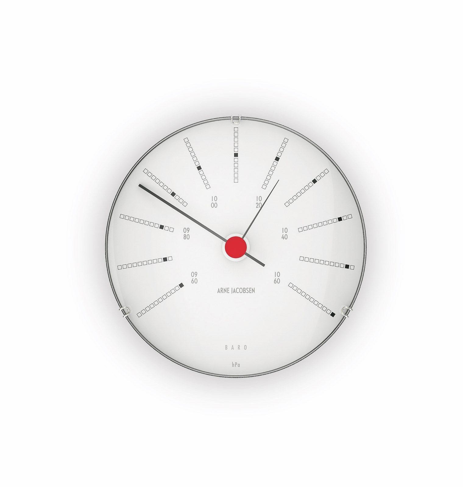 Arne Jacobsen Bankers vejrstation, barometer