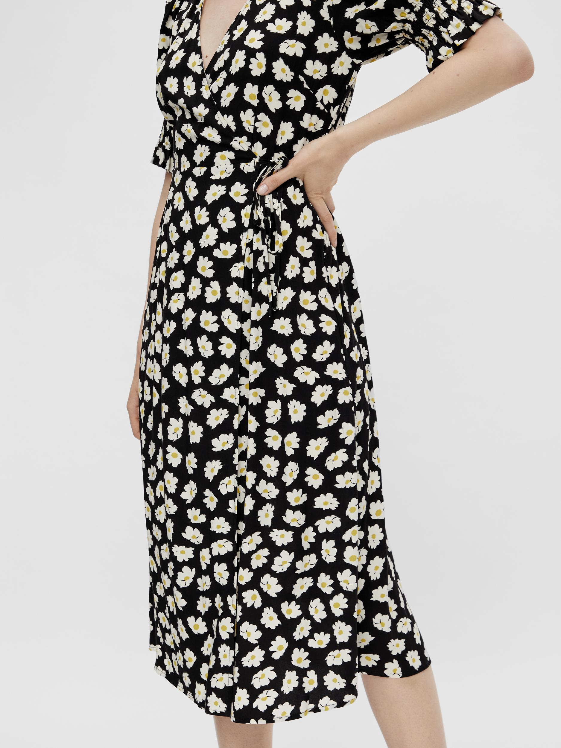 Pieces Rasmine SS kjole, black, large