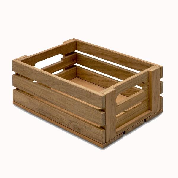 SKAGERAK Dania box 2, H13 cm, 22x31 cm, teaktræ