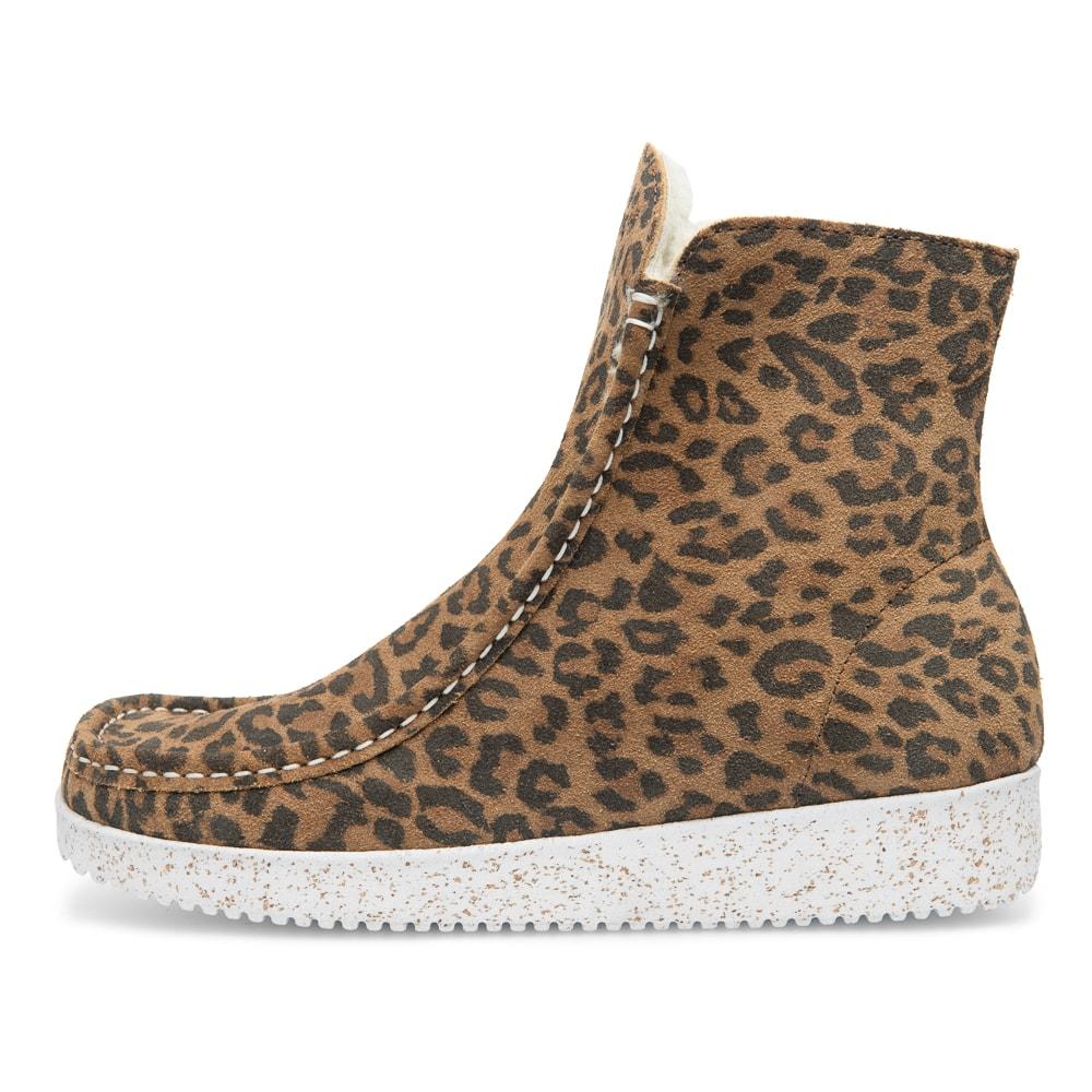 Nature Leopardprintet støvle, Leopard, 36