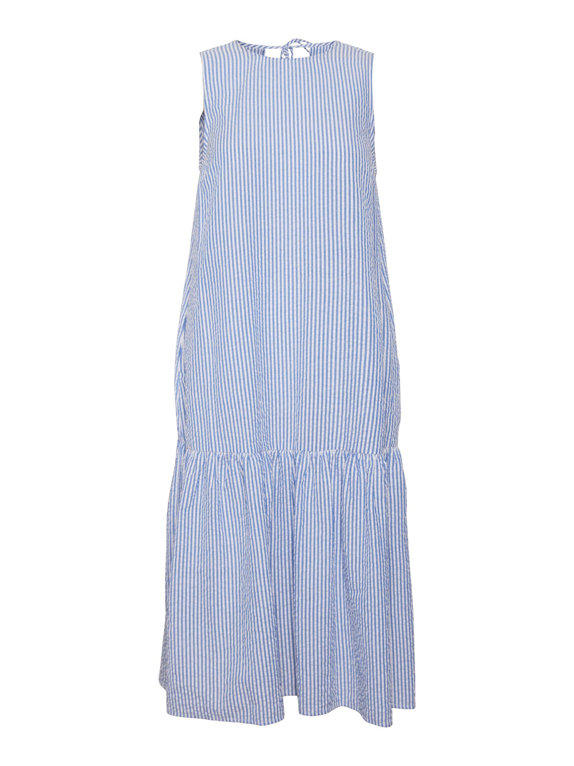 Vero Moda Iris kjole, white/blue, x-large