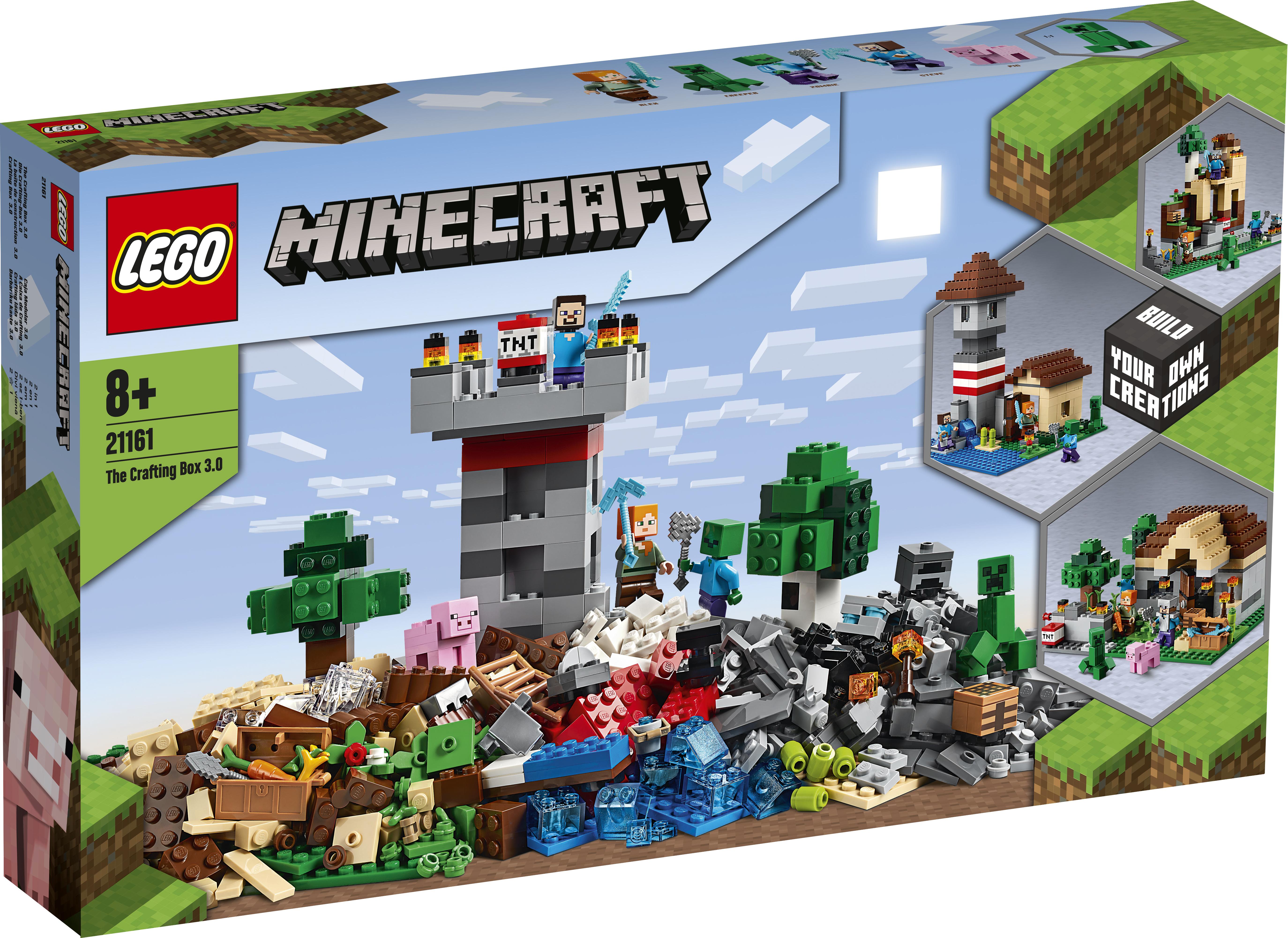 LEGO Minecraft Crafting-boks 3.0 - 21161
