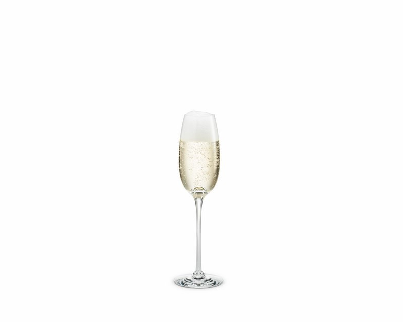 Holmegaard Fontaine champagneglas, 210 ml