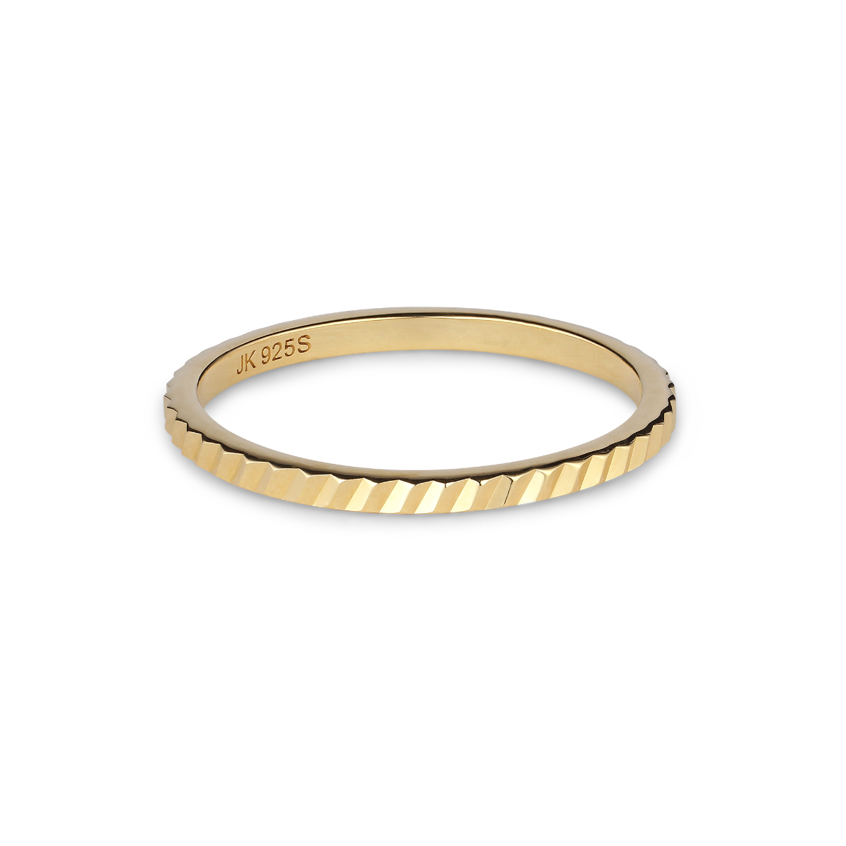 Jane Kønig small Reflection ring, guld, 54