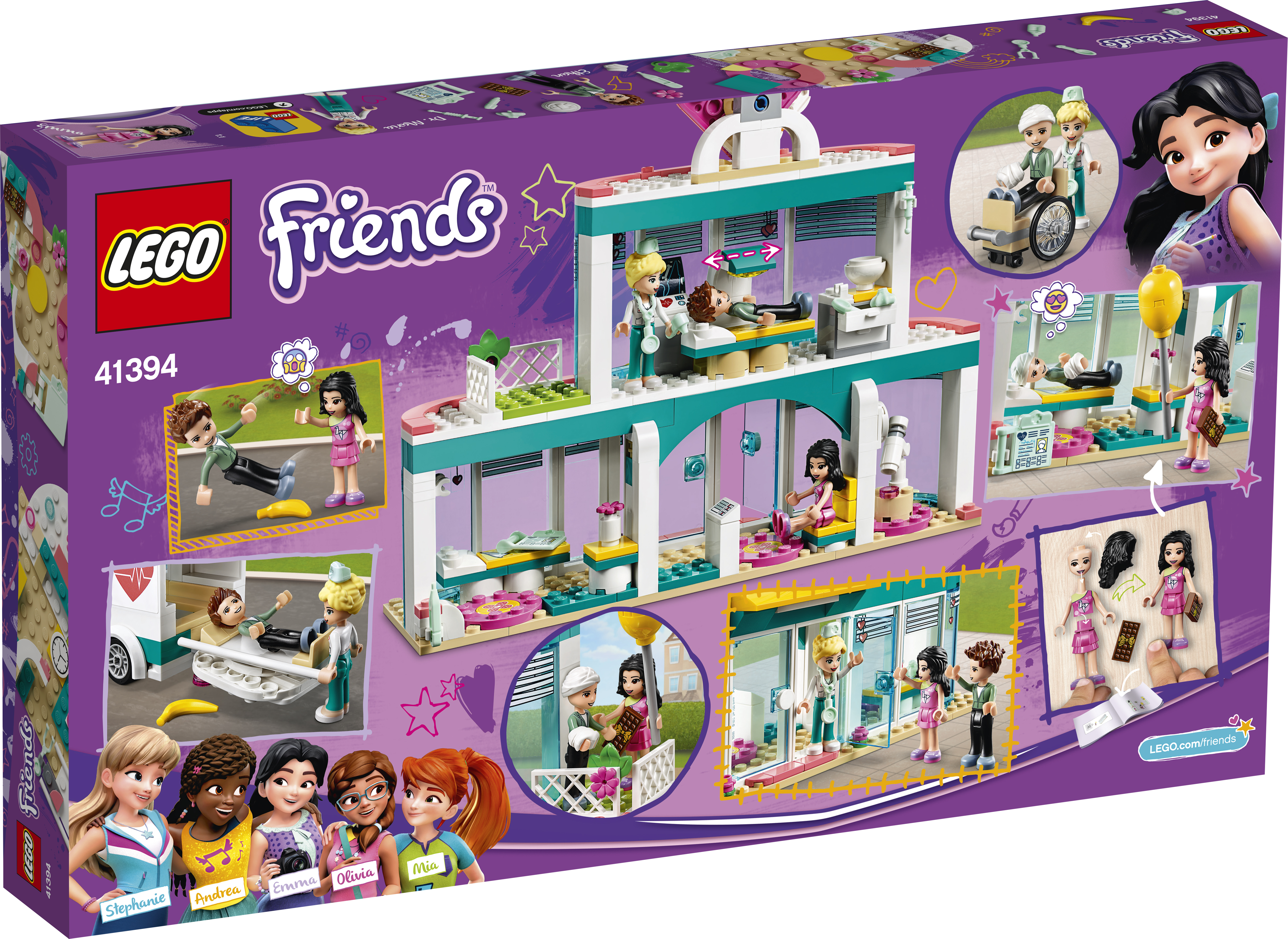 LEGO Friends Heartlake hospital - 41394