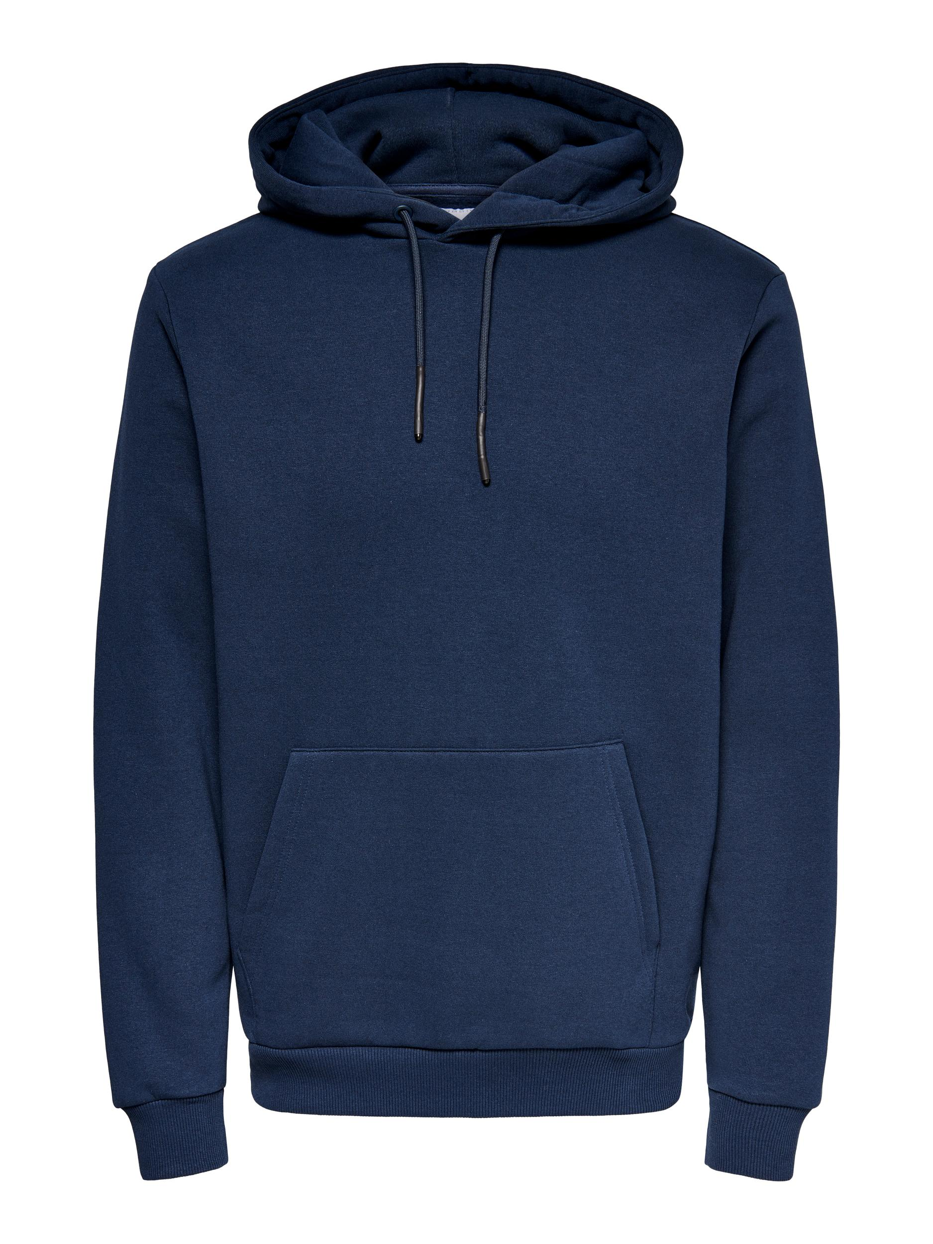 Only & Sons Ceres Life hoodie, dress blues, x-large