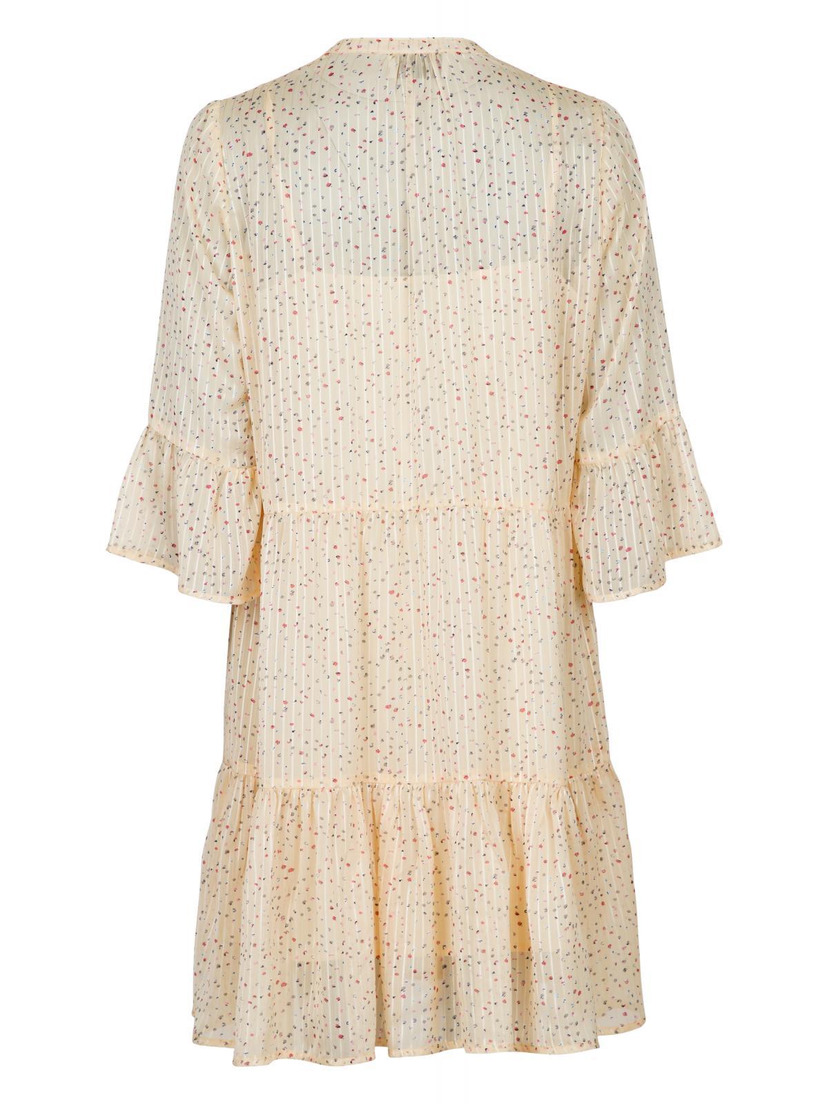 Neo Noir Gunvor Sparkle kjole, yellow, 42
