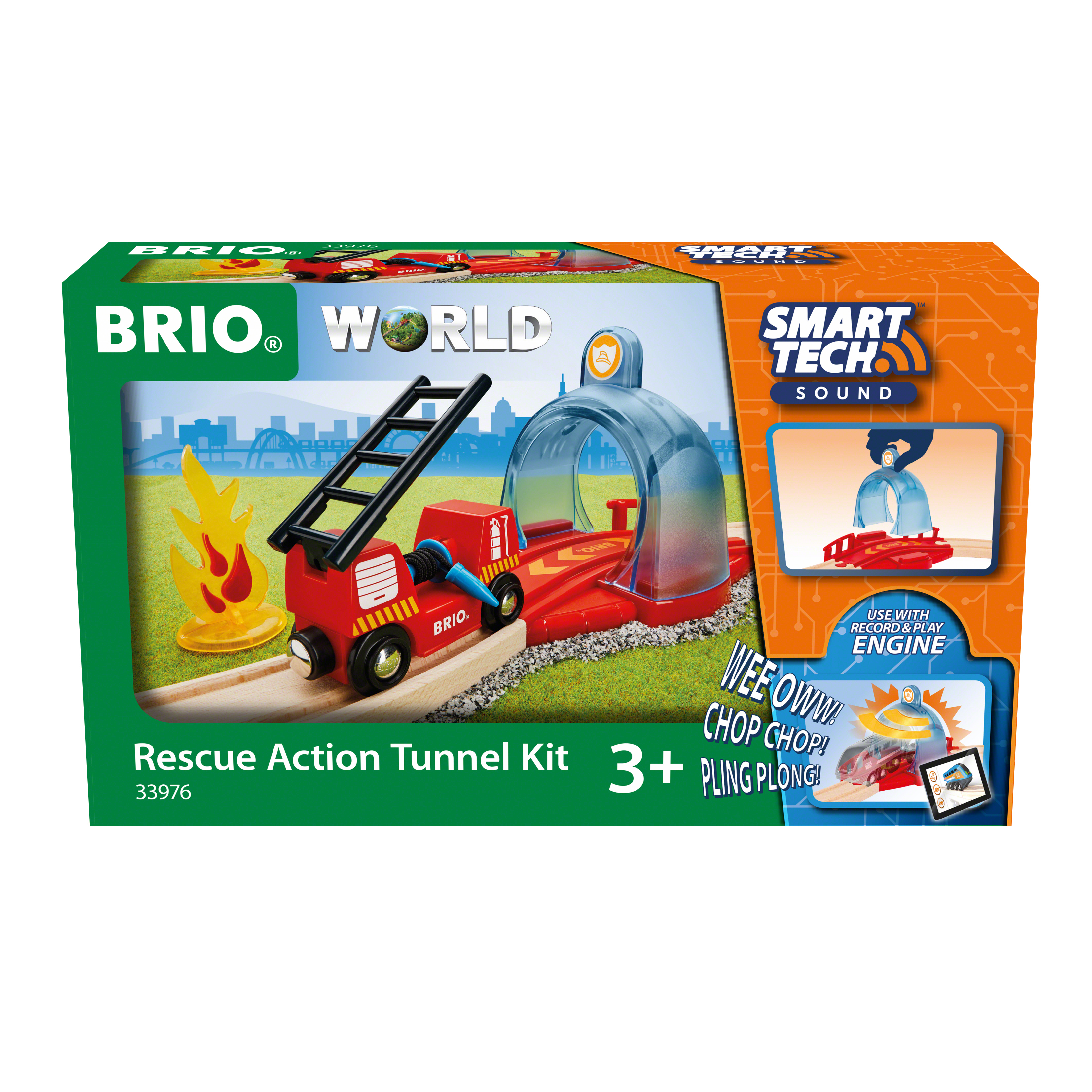 BRIO Rednings Action tunnelsæt