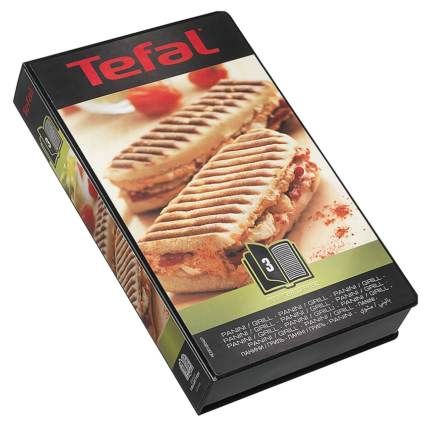 Tefal Snack Collection paniniplader, sort