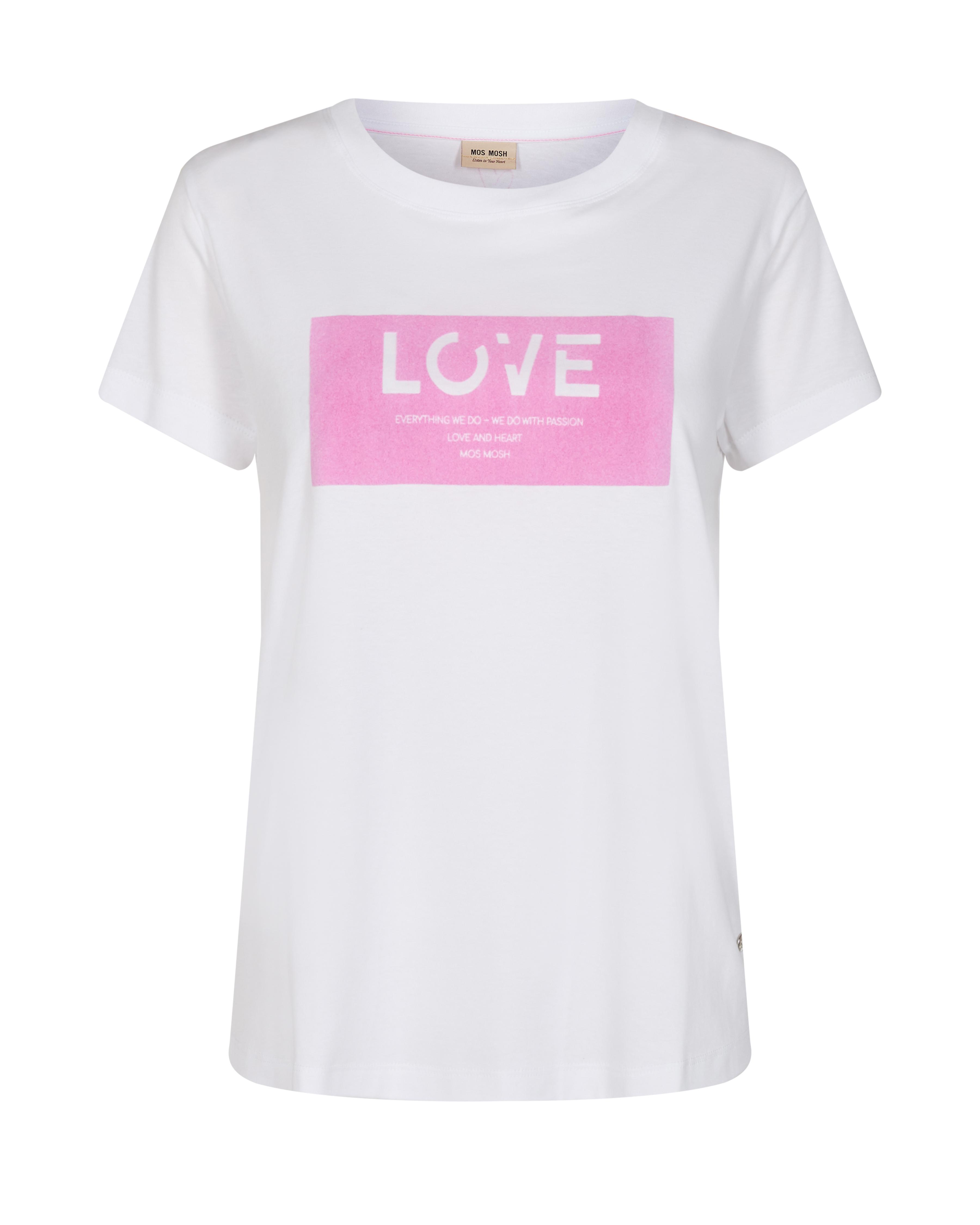 Mos Mosh Chérie O-SS t-shirt, bubble pink, large