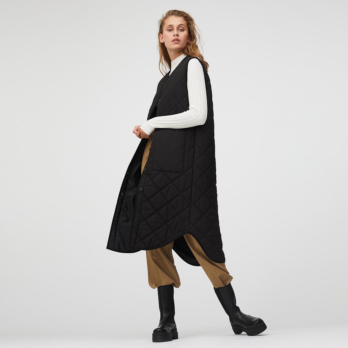 Global Funk Kaison vest, black, x-small