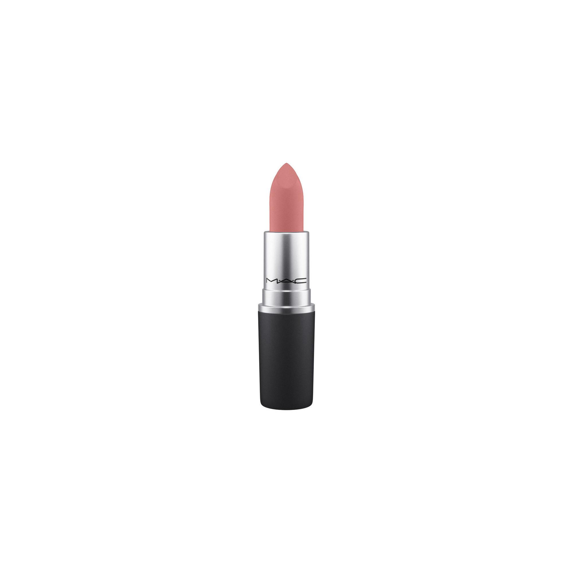 MAC Powder Kiss Lipstick, scattered petals