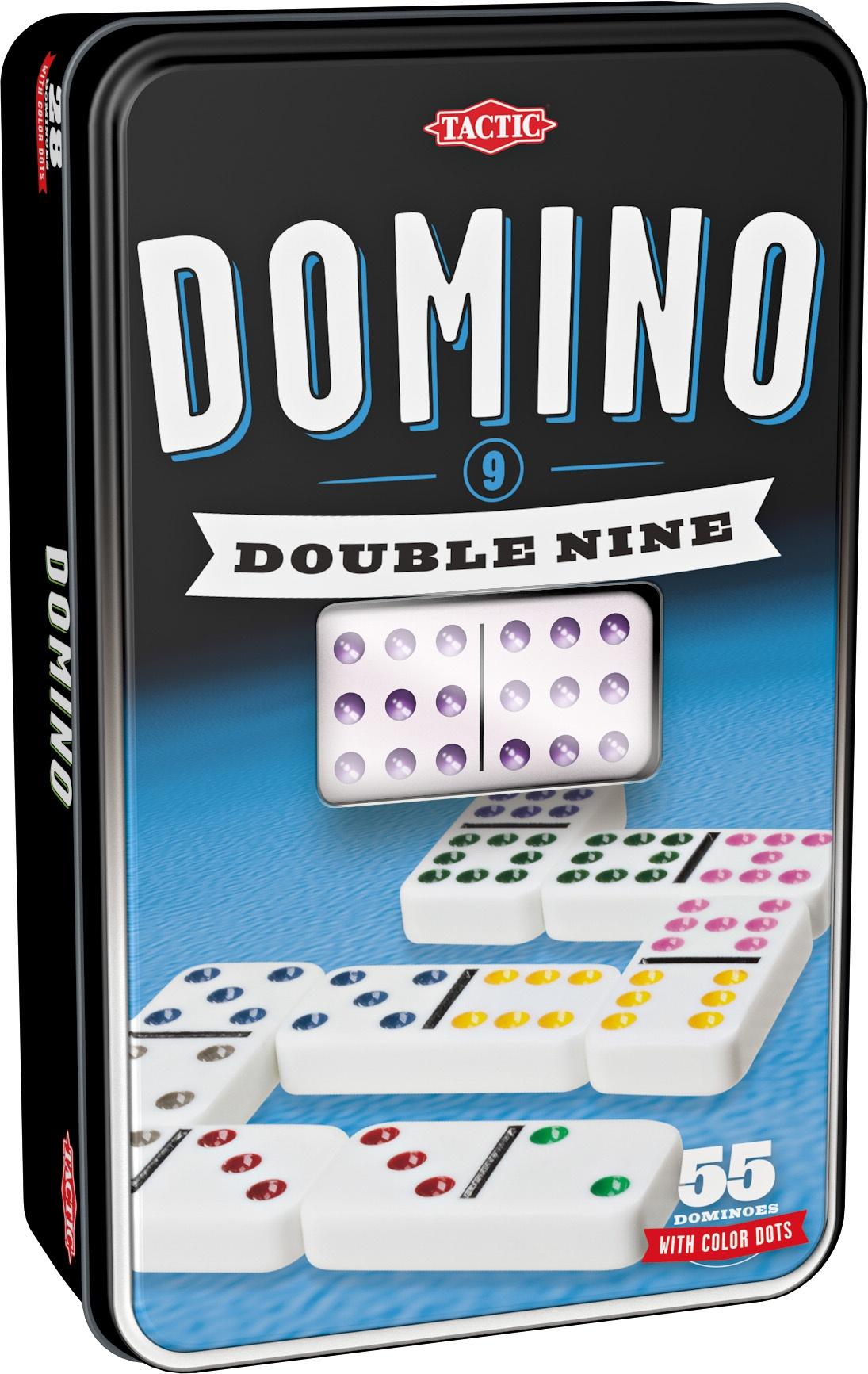 Domino Dobbelt 9, familiespil