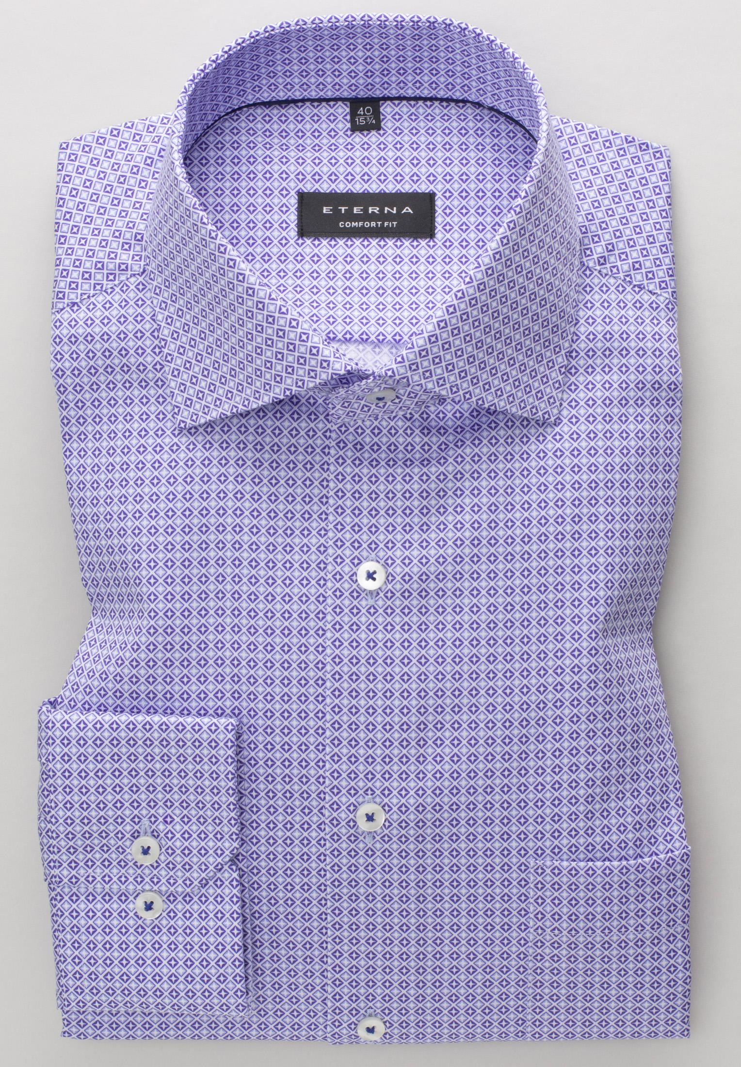 Eterna LS skjorte, comfort fit