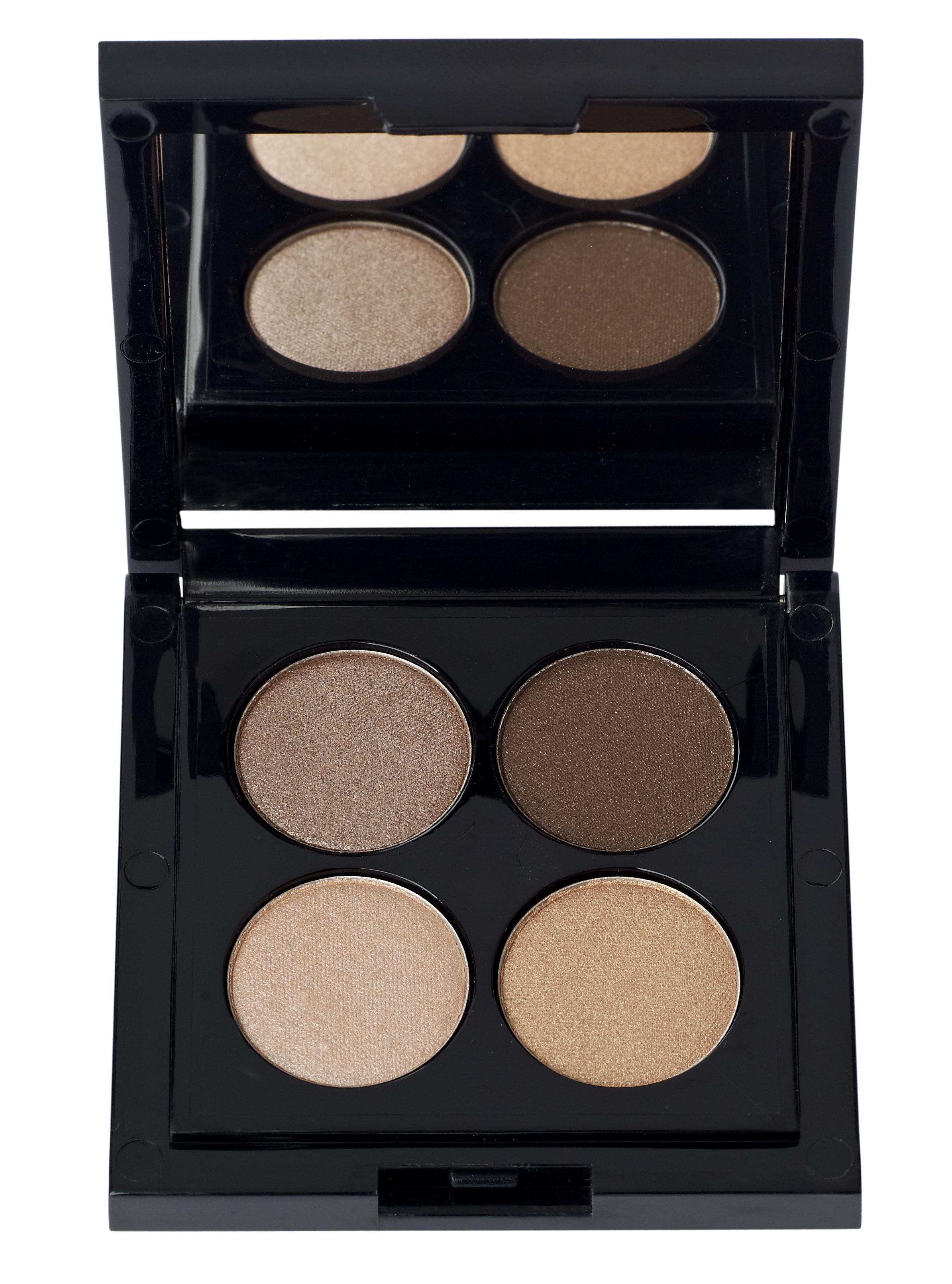 IDUN Minerals Eyeshadow Palette, brunkulla