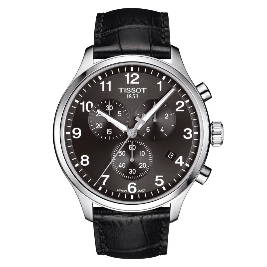 Tissot T1166171605700 Chrono XL Herreur, Steel/Black