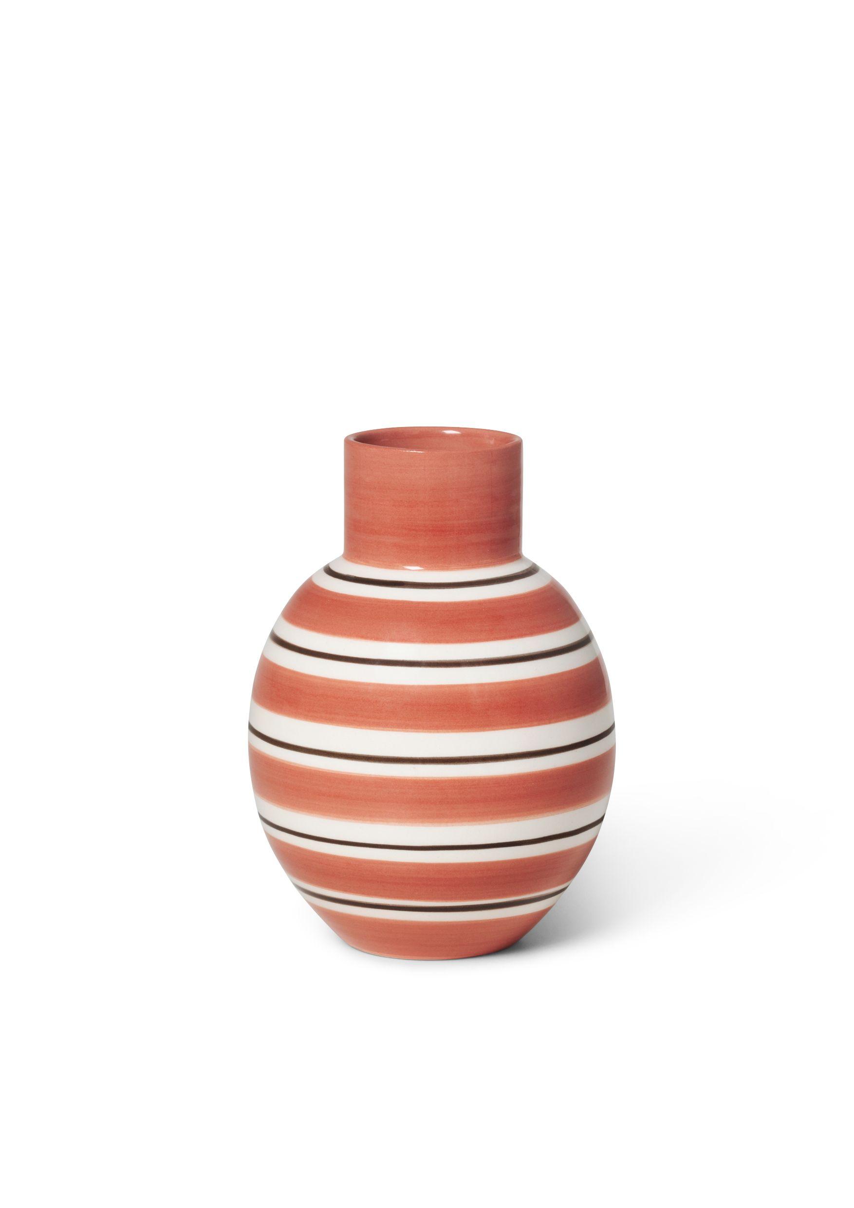 Kähler Omaggio Nuovo vase, H14,5 cm, terracotta