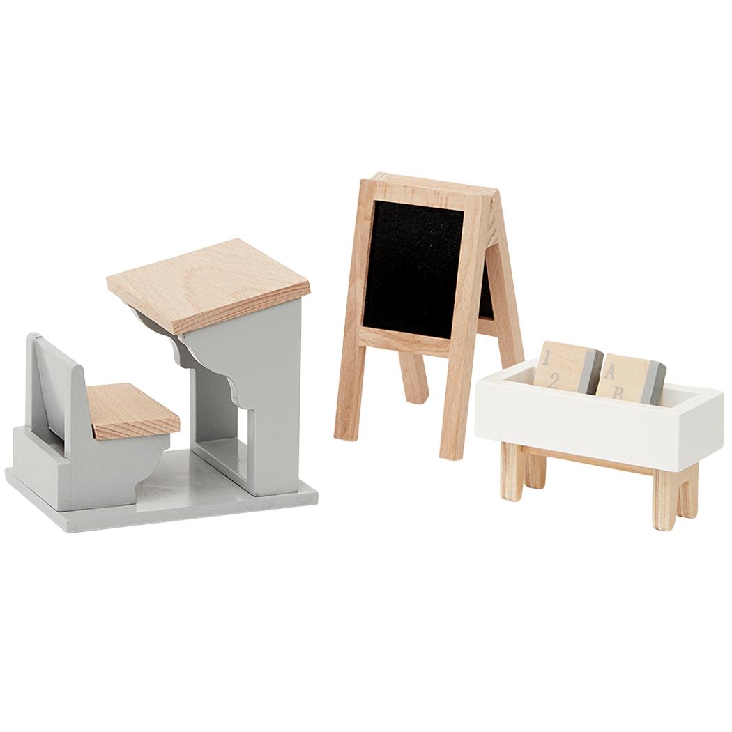 By Astrup Skolestue møbler til dukkehus