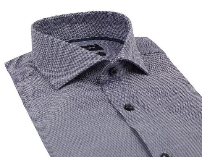 Bruun & Stengade Greenwood Modern Fit skjorte, navy, 43