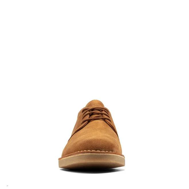 Clarks Desert London 2 sko, cognac, 43