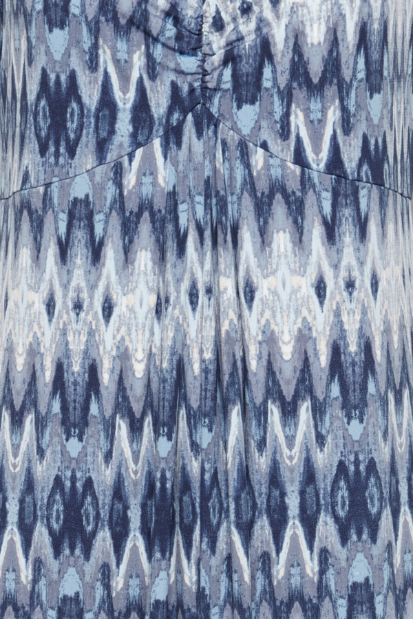 Fransa Jersey kjole, vintage indigo mix, large