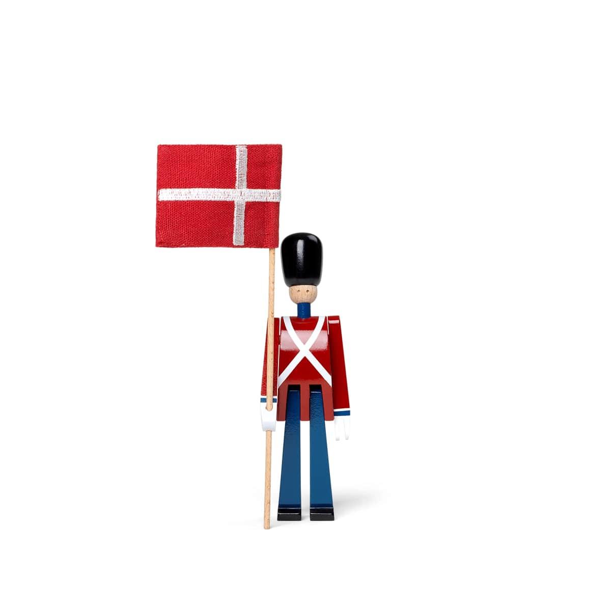 Kay Bojesen fanebærer med flag, mini