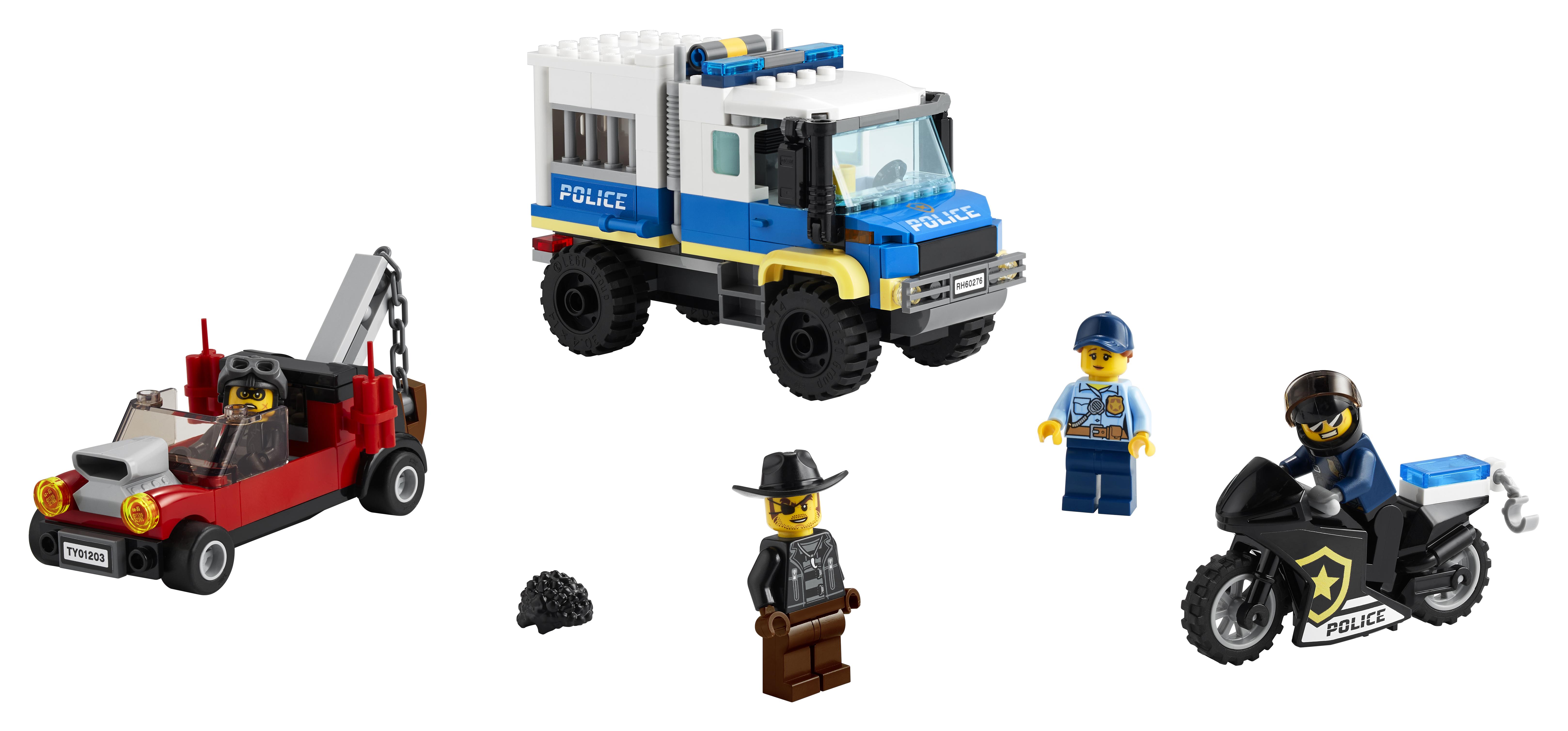 LEGO City Politiets fangetransport - 60276
