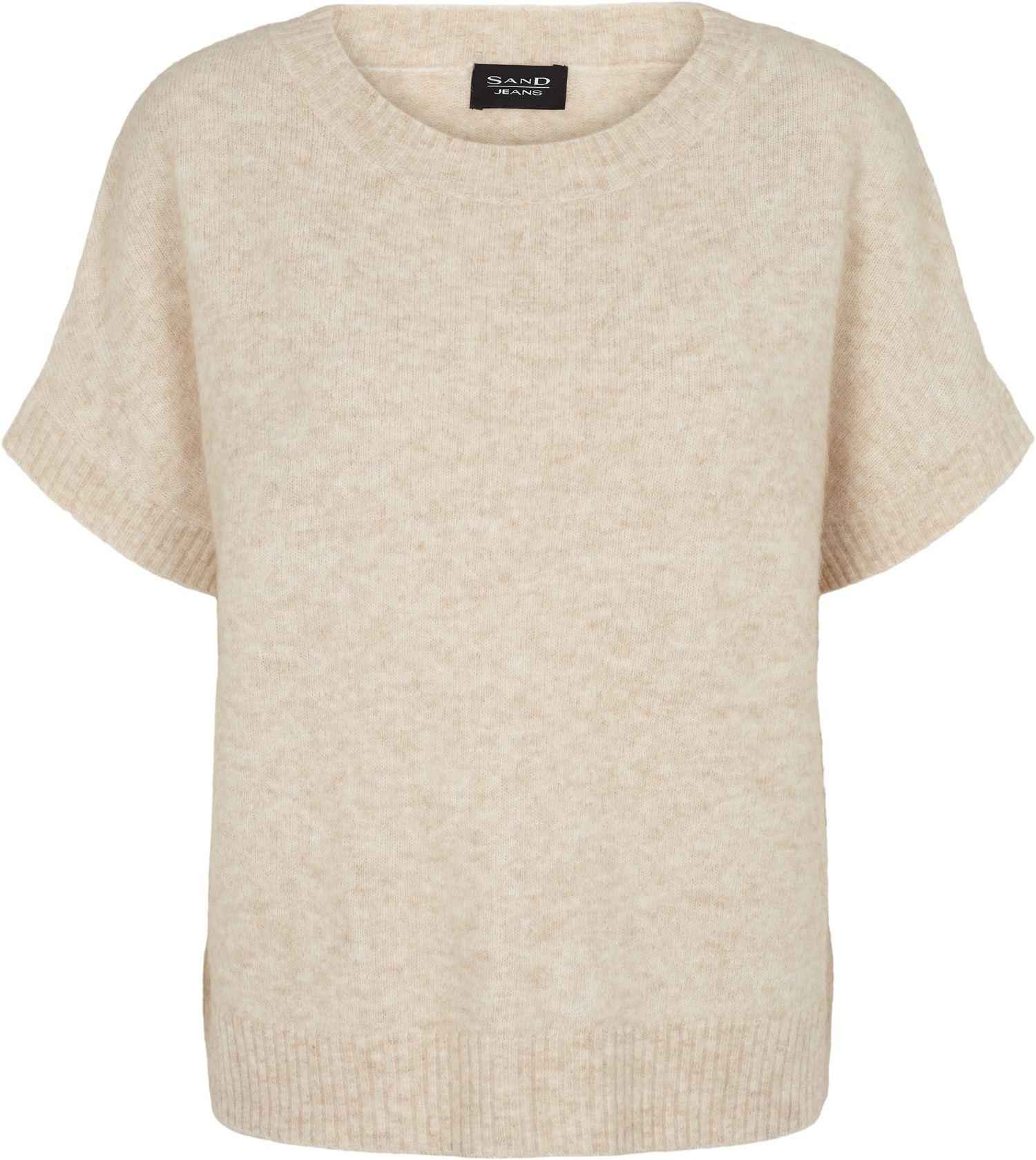SAND Izadi t-shirt, beige, medium