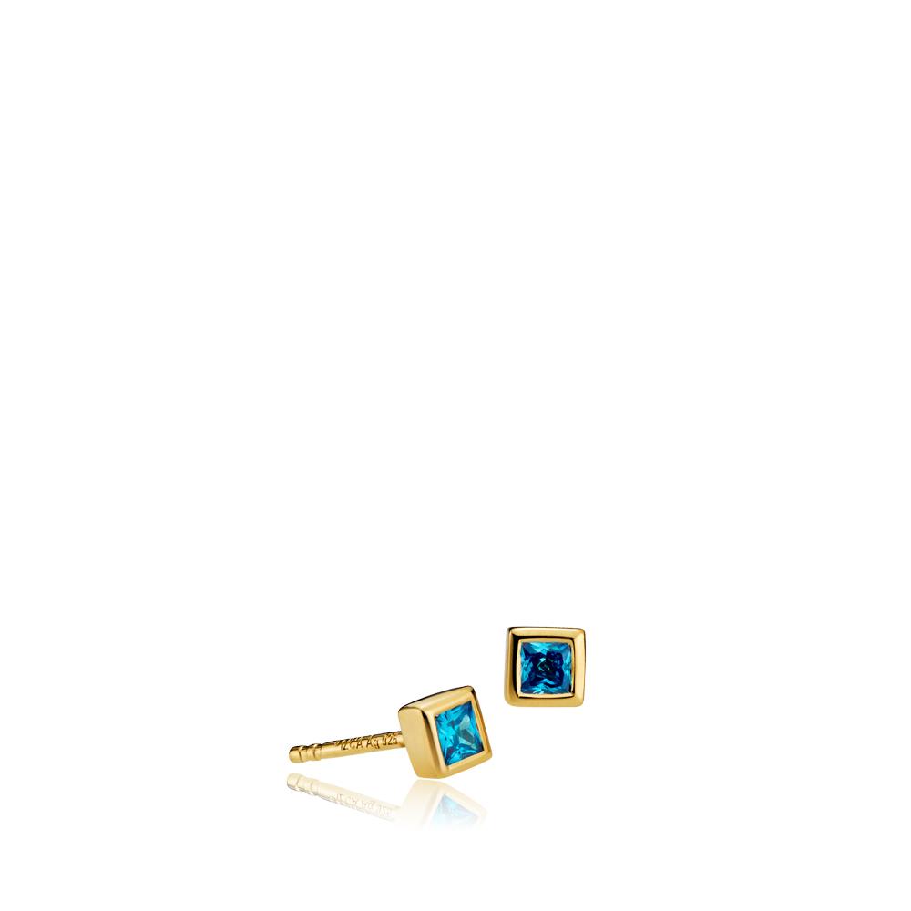 SISTIE Element blå ørestikker