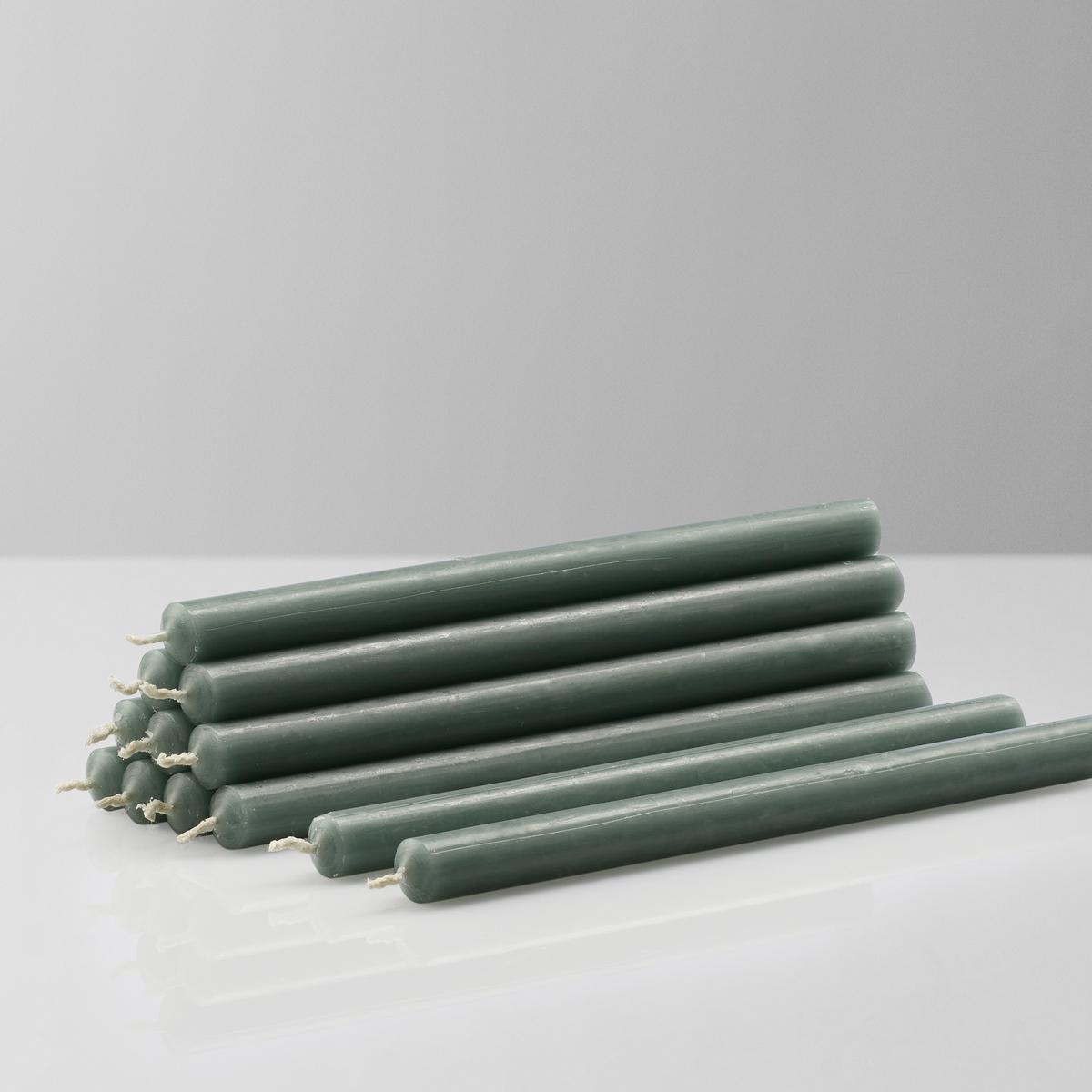Stoff Nagel kertelys, lysegrøn, 12 stk