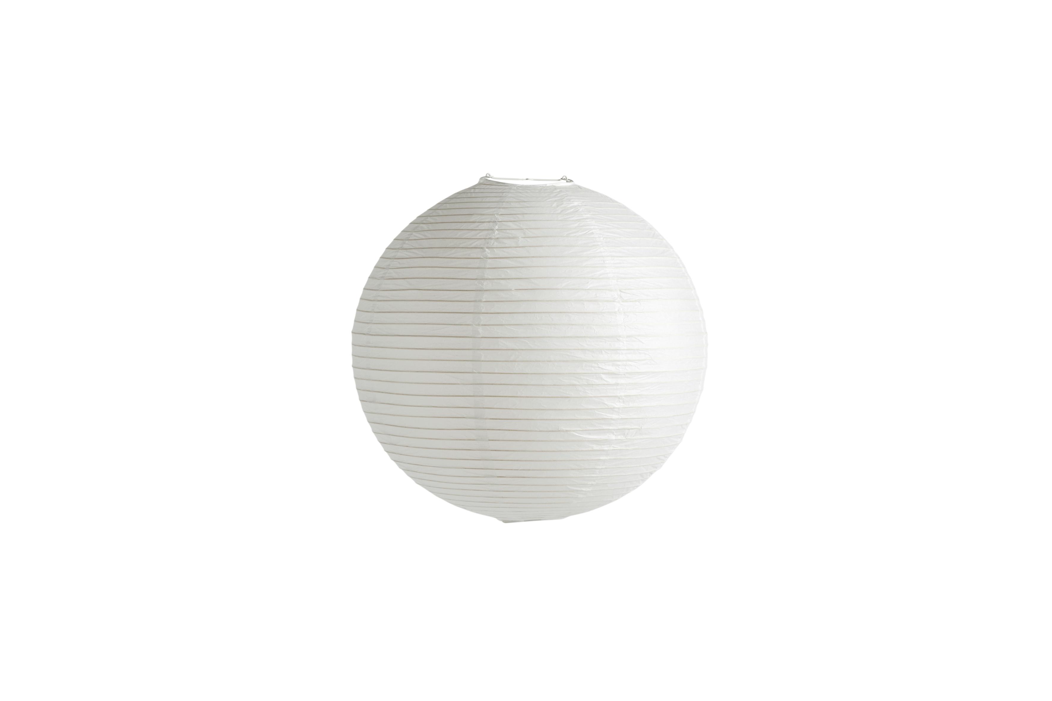 HAY Classic rispapir lampeskærm, Ø50 cm, hvid