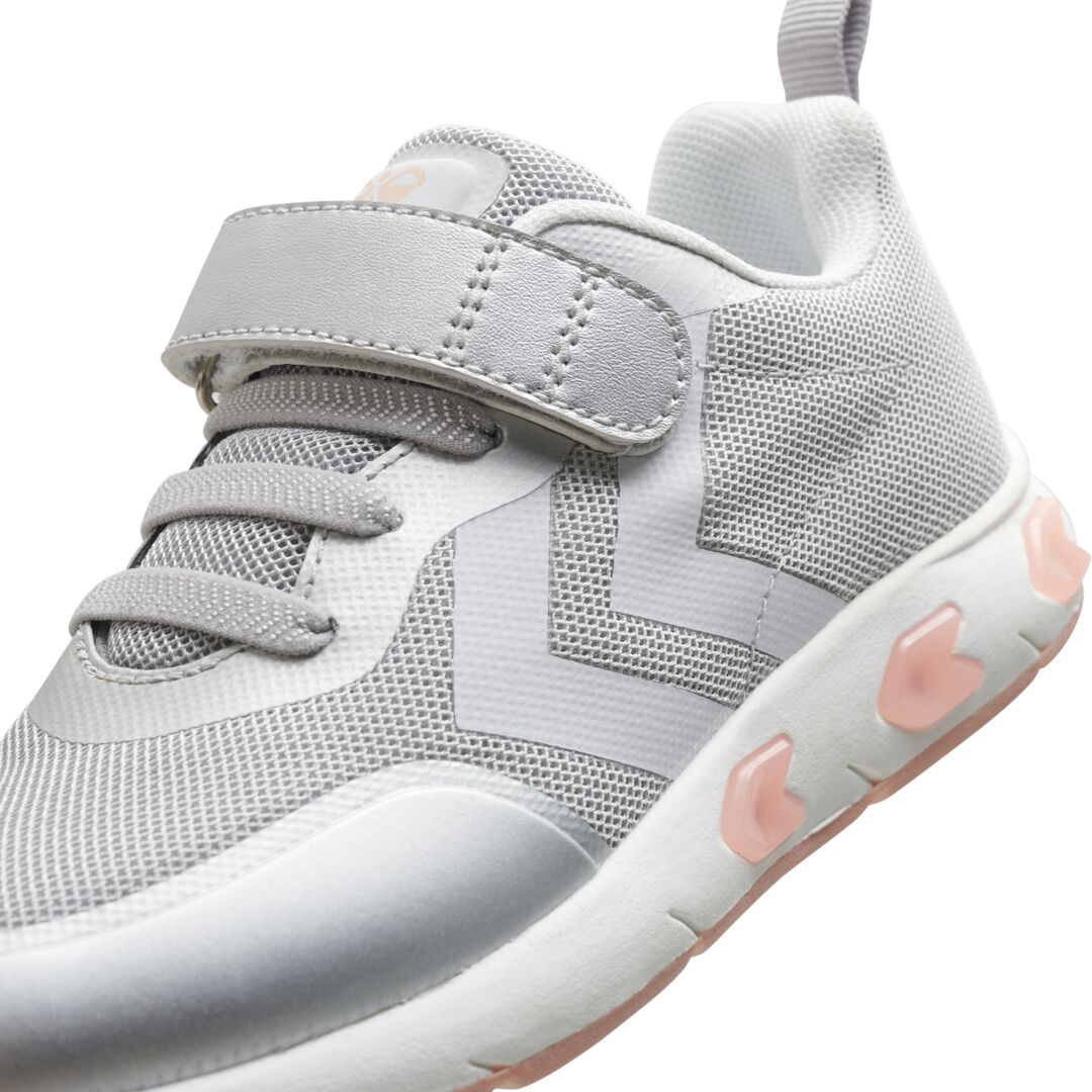 Hummel Flash Run sneakers, Silver, 34