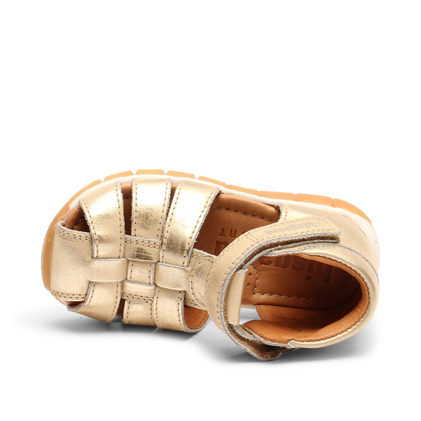 Bisgaard Billie sandal, platin, 24