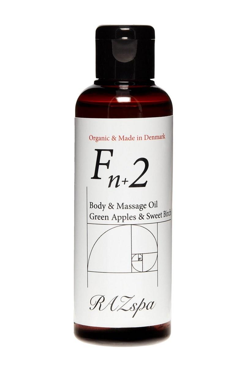 RAZspa Fn+2 Body & Massage Oil, 100 ml