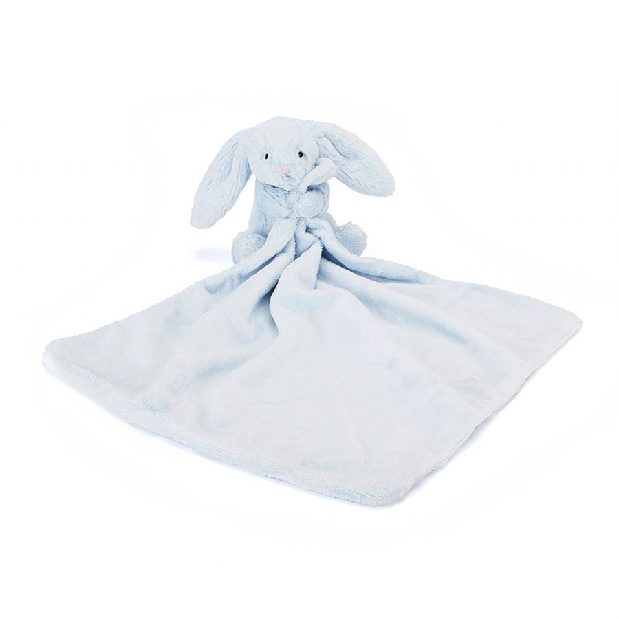 Jellycat, Kanin nusseklud, 33 cm, blå