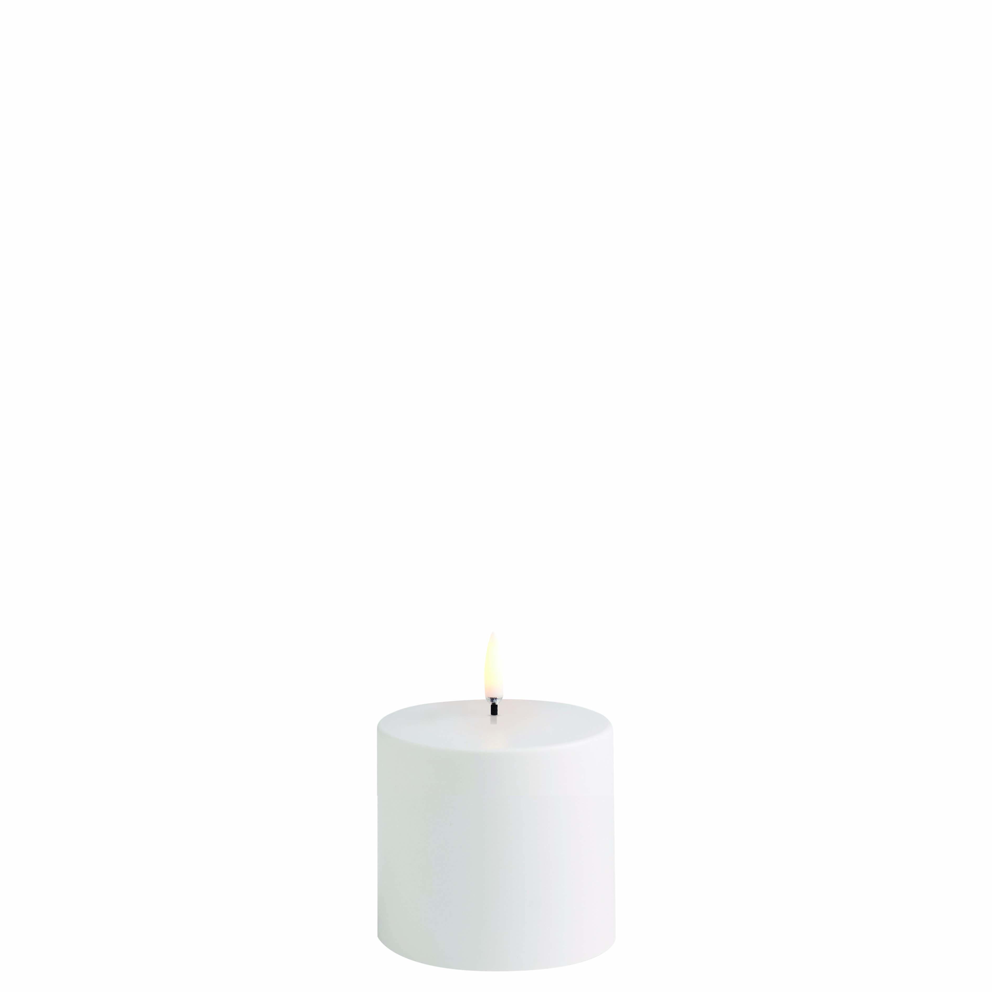 Uyuni LED udendørslys, 7,8x7,8 cm, hvid