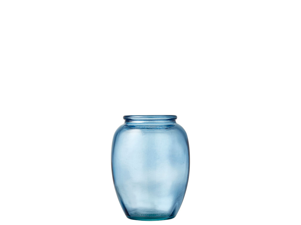 Bitz Kusintha vase, H13 cm, blå