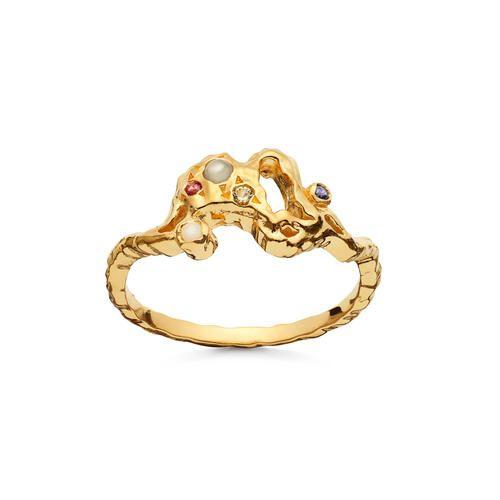 Maanesten Lulu ring, guld, 59