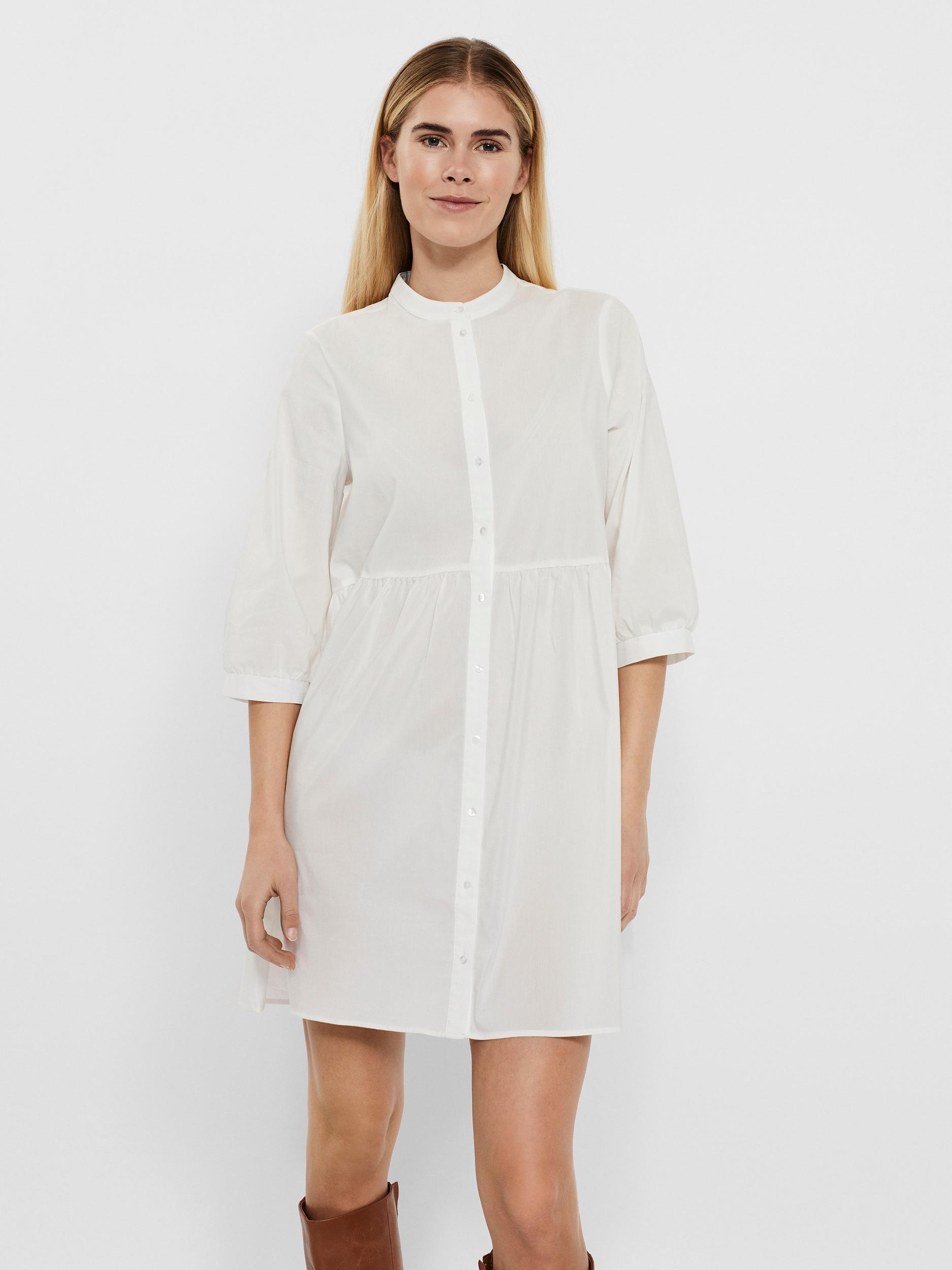 Vero Moda Sisi kjole, snow white, x-large