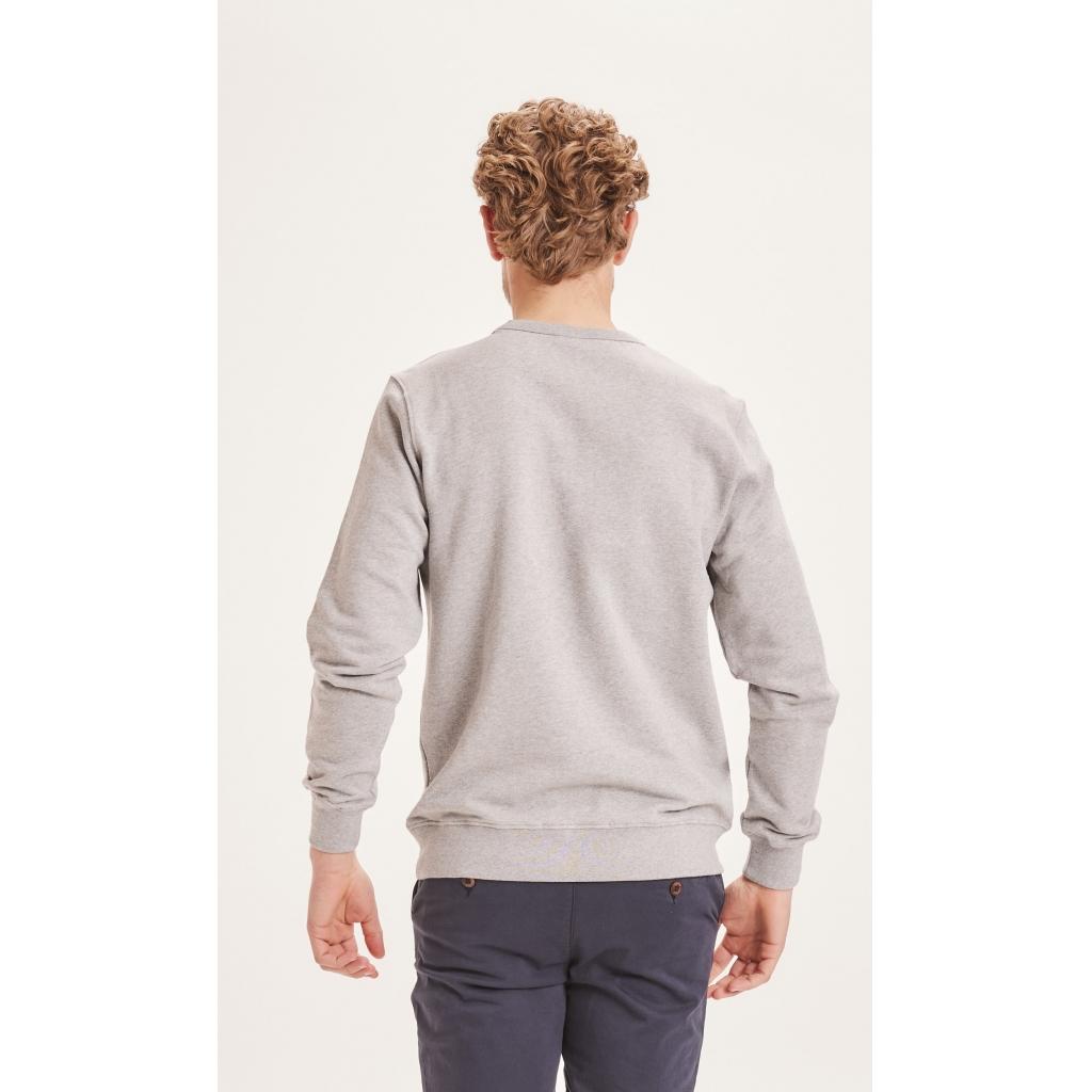 Knowledge Cotton Apparel ELM sweatshirt, forrest green, large
