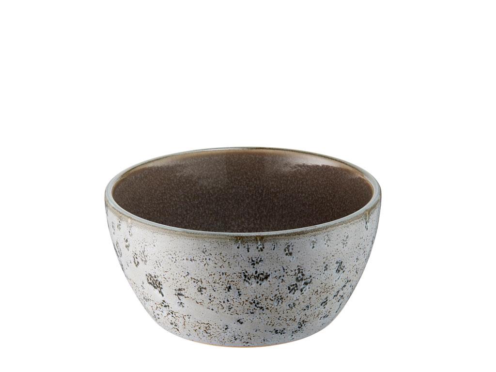 Bitz skål, Ø12 cm, grå/grå